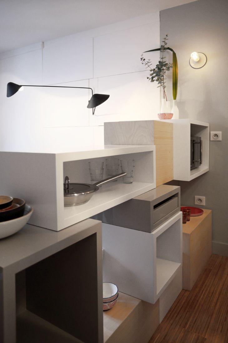 julie nabucet designs 12 square meter mini apartment with. Black Bedroom Furniture Sets. Home Design Ideas