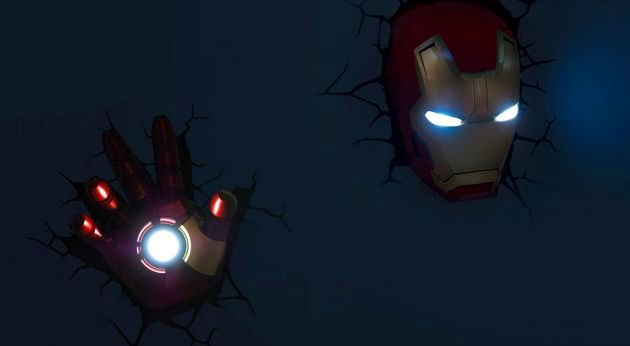 Decorate walls of your kids room with cool 3d marvel superhero 3d marvel superhero nightlights mozeypictures Choice Image