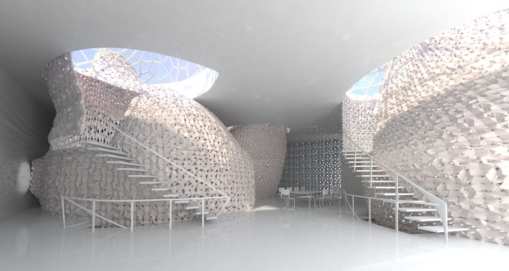 Concepts likewise 3d Printed House 1 0 likewise Code we Designs in addition rael Sanfratello additionally Shed. on emerging objects design 3d printed salt house