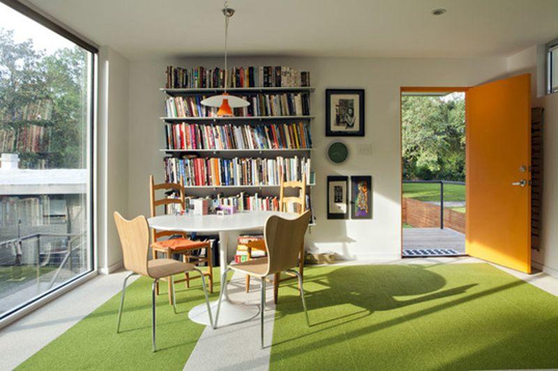 a modern backyard home office by asul studio home crux. Black Bedroom Furniture Sets. Home Design Ideas
