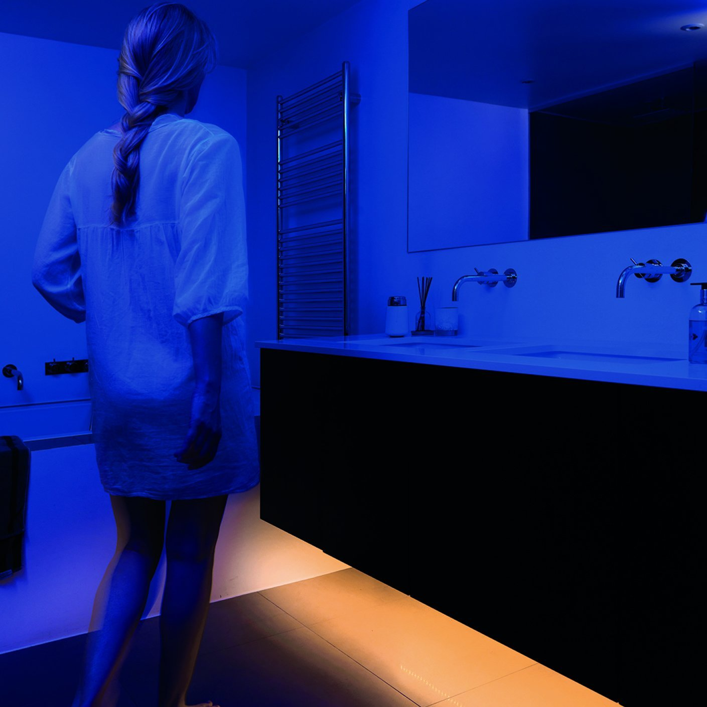 Bedlight Motion Activated Ambient Led Lighting Provides