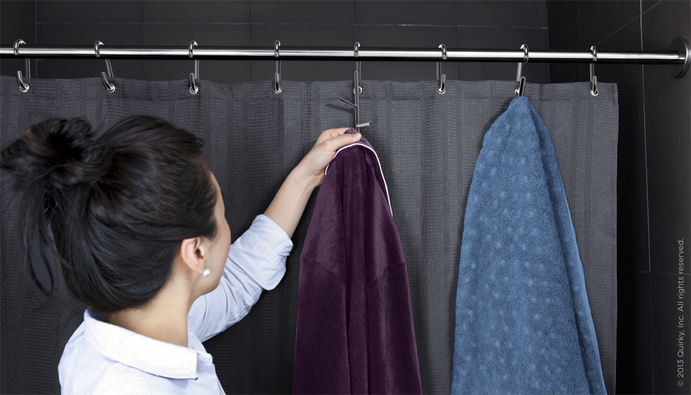 Branch Shower Curtain Rings With Hooks 3