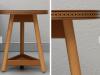 brogue side table