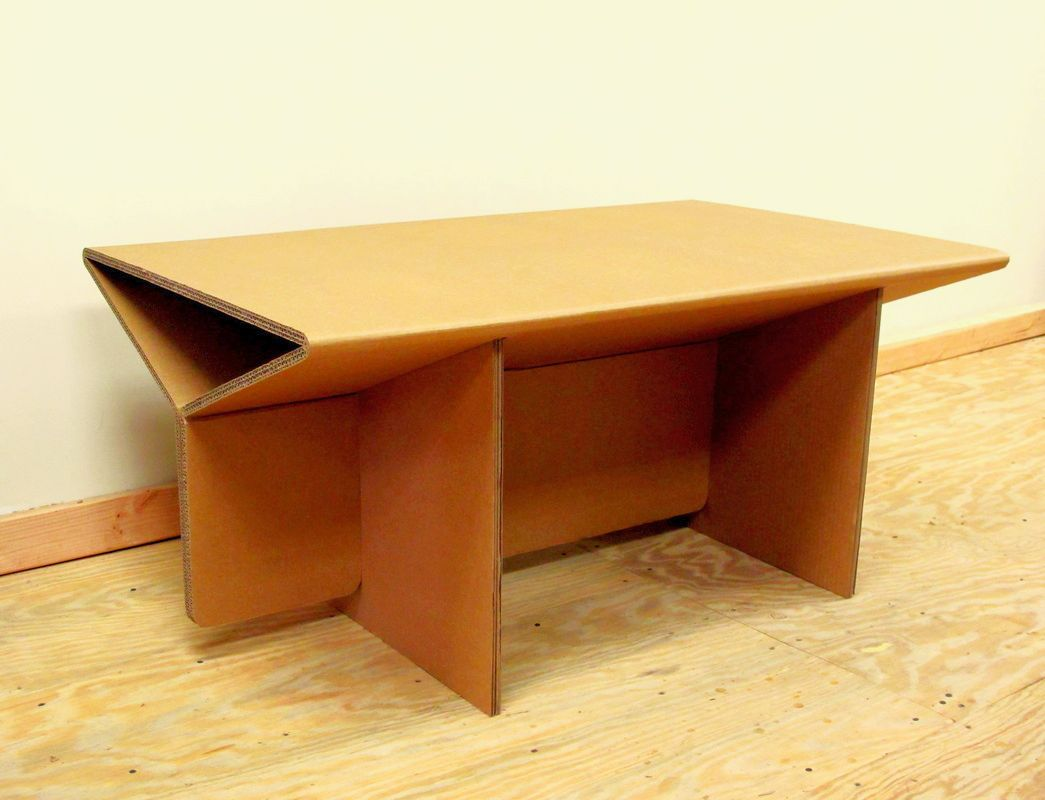 Chairigami Intros A Range Of Furniture Items Specially Crafted From Cardboard Homecrux