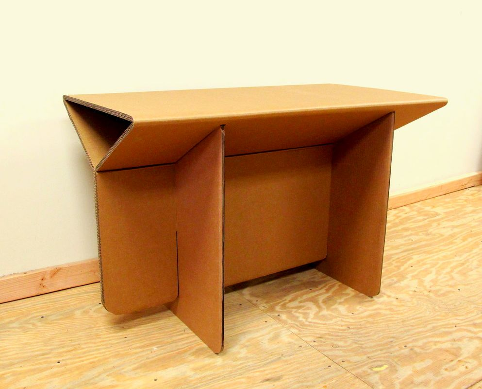 chairigami intros a range of cardboard furniture items. Black Bedroom Furniture Sets. Home Design Ideas