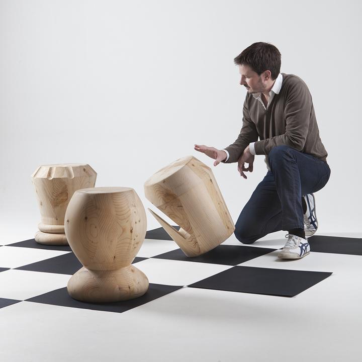 Delightful Chess Stools By Giorgio Bonaguro