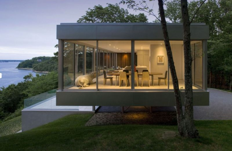 Clearhouse a modernist home without conventional walls home crux - The house without walls ...