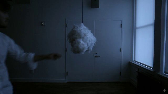 Cloud Is An Audiovisual Fixture That Simulates A Real