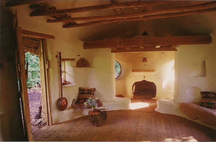 Cob House Built For 250 From Mud Straw And Clay No