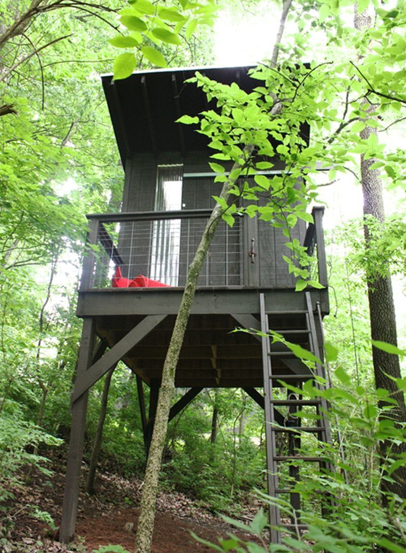 A Tennessee Family Treehouse Built With Diy Credentials