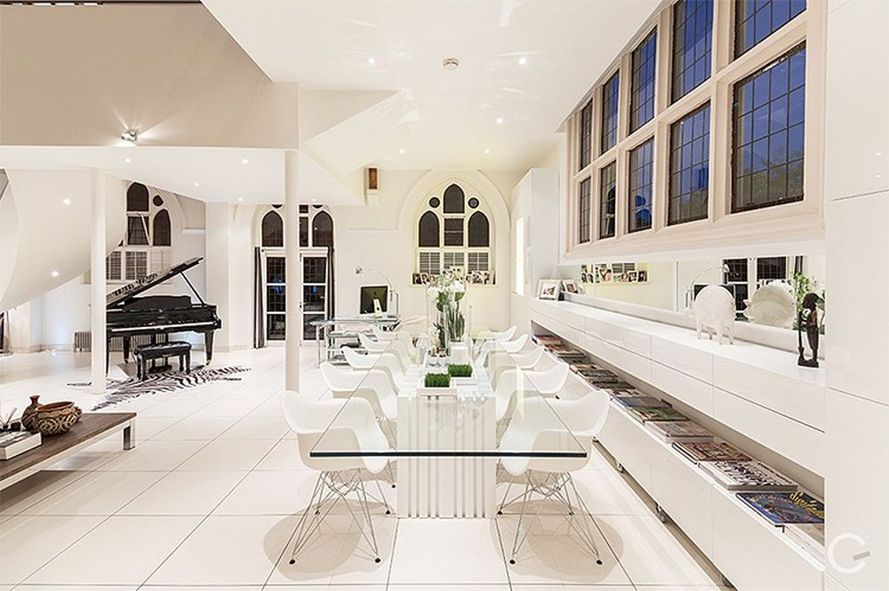 Church Converted Into Luxury Apartment With Amazing