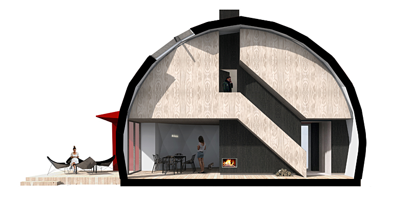 Portable Dome House : Geodesic dom e a portable habitable outdoor space with