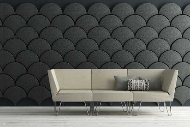 Give Your Walls An Artistic Insulation Using Ginkgo