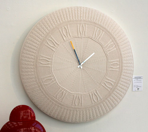 Gomitolo Knit Clock Provides A Style Statement To Any Room