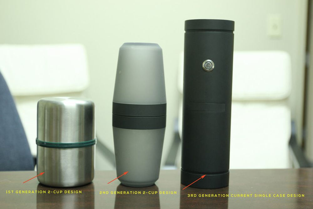 Brew Coffee Anywhere With Hey Joe Coffee Mug At The Push Of A Button Homecrux