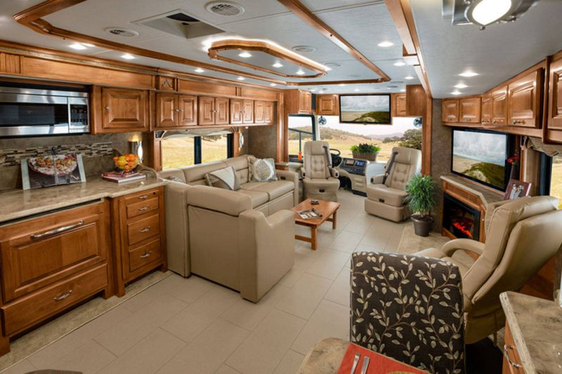 Rays Manager Joe Maddons Decked Up Tiffin Phaeton RV