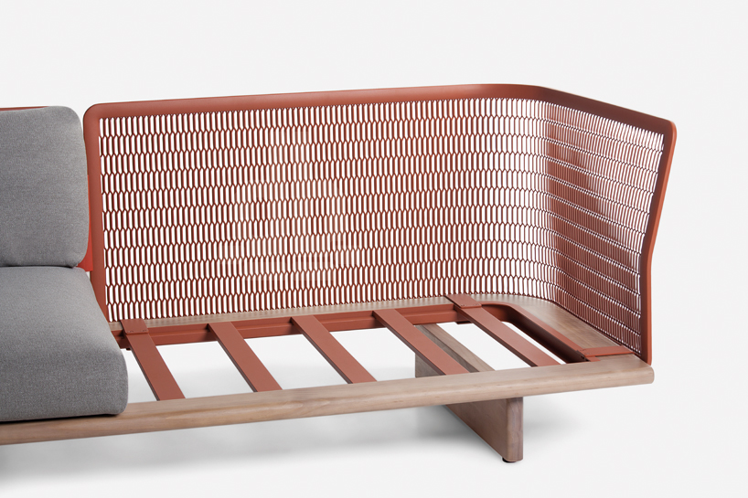 Kettal mesh collection outdoor furniture with a catchy for Design by furniture
