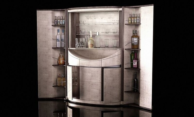 Linley S Tectonic Bar Fuses Opulence With Deft