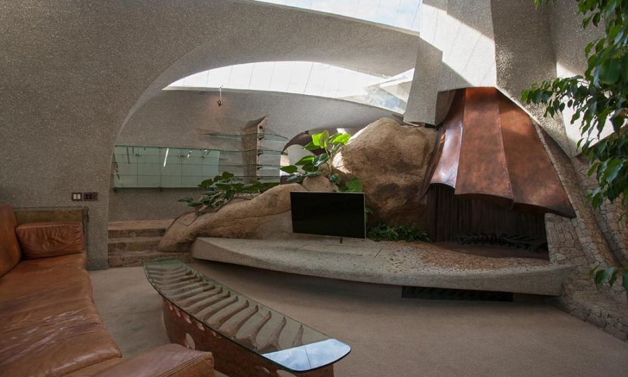 3m organic modern desert house in joshua tree california for Sustainable interior design products