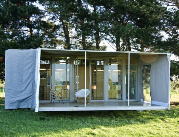 Port A Bach Sustainable Shipping Container Home On Wheels