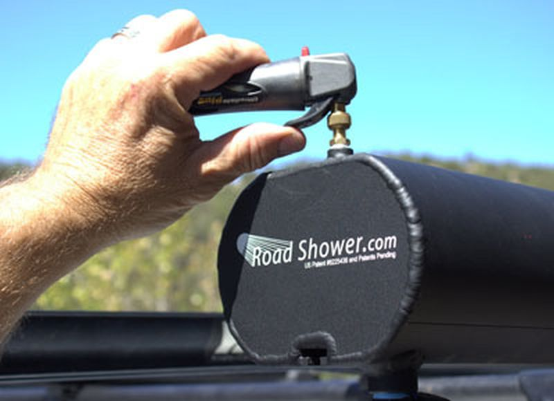 Road Shower Solves Your Outdoor Bathing And Drinking Woes