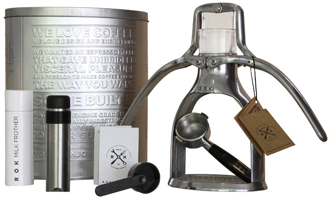Manual Coffee Maker How To Use : Brew coffee of your choice with ROK Manual Espresso Maker (no electricity required)