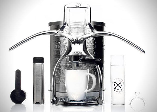 Manual Coffee Maker ~ Brew coffee of your choice with rok manual espresso maker