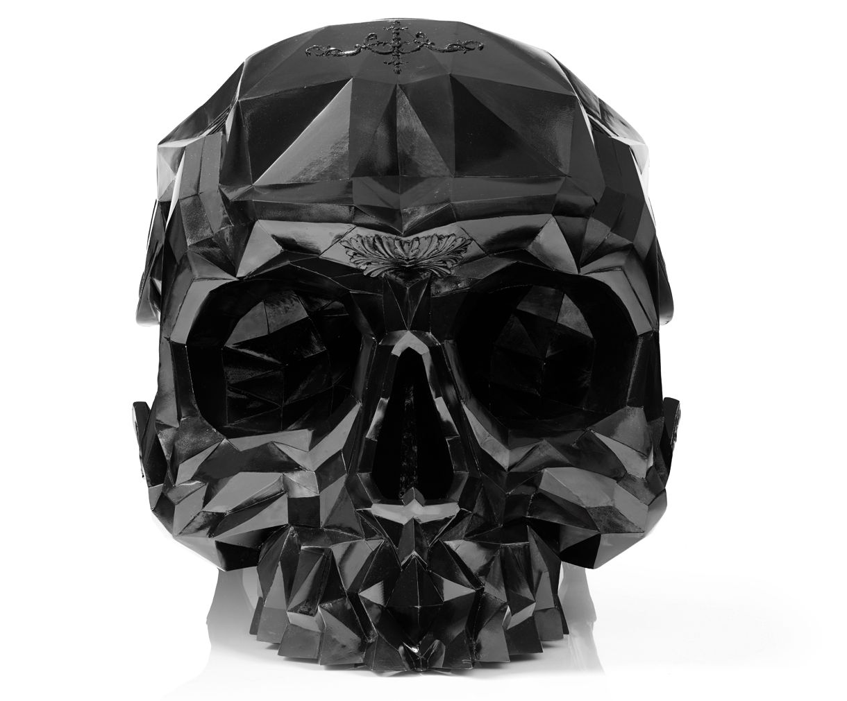 skull armchair executes a brilliant design for gothic themed interiors. Black Bedroom Furniture Sets. Home Design Ideas