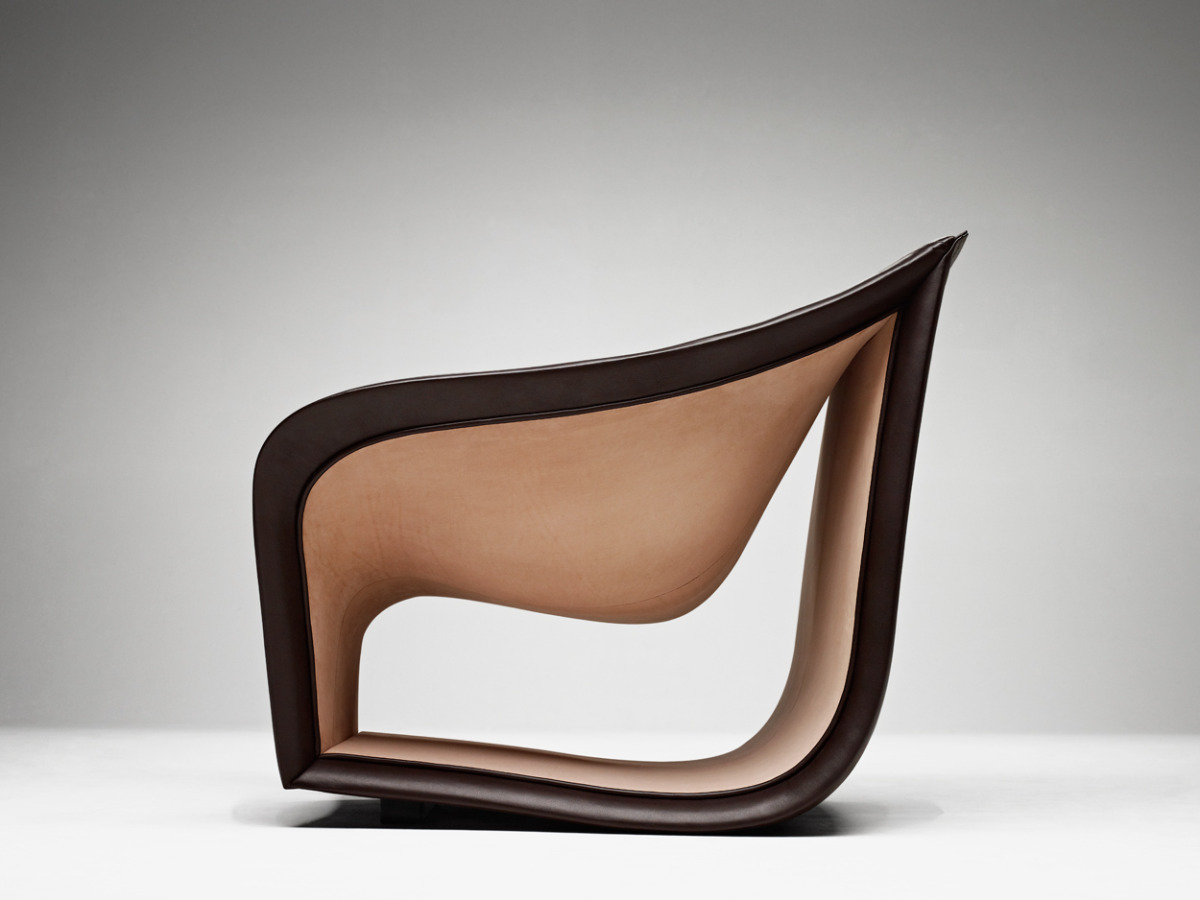 Split Sofa And Chairs By Alex Hull Have Beautiful Smooth