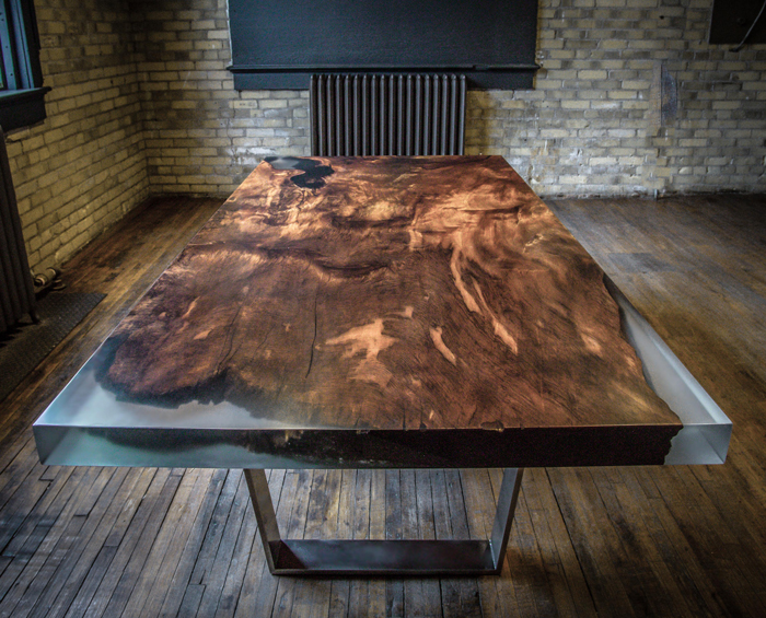 This Dining Table Is Carved From 4000 year old Redwood Burl