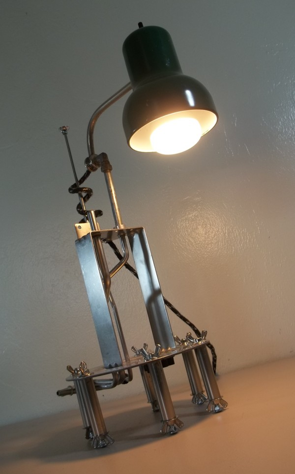Excellent Bre LED Lamp Is Made From 50 Recycled Materials AhBre EcoDeco Lamp
