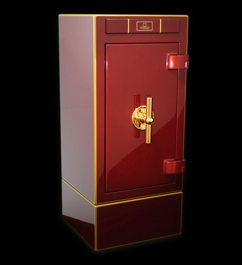 Elegant stockinger safes come with hi tech security for Luxury home safes