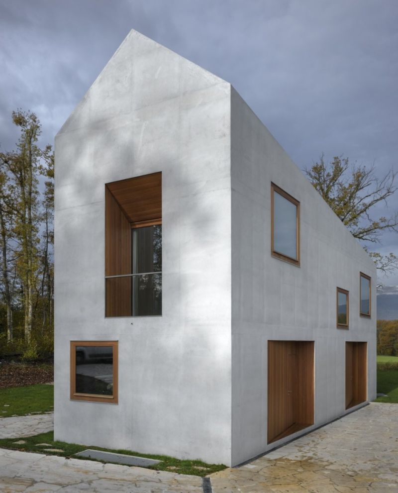 Two In One House A Geometric Wonder Encased In