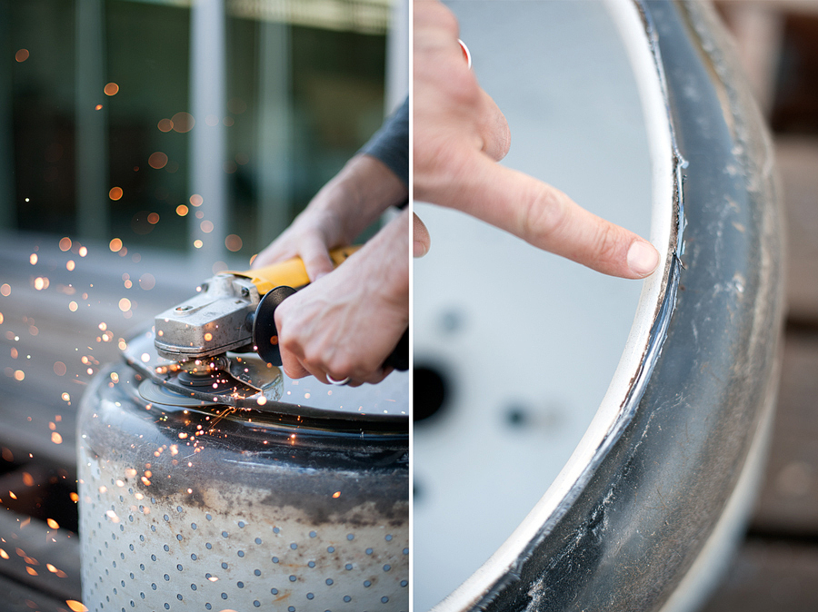 How To Turn A Washing Machine Drum Into A Fire Pit