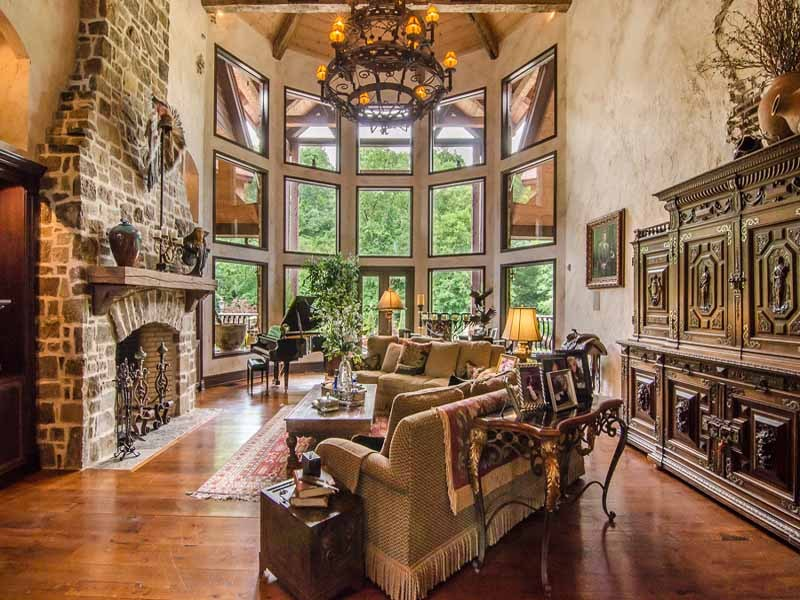 The Western Themed Gainesville Estate Priced At 17 5m