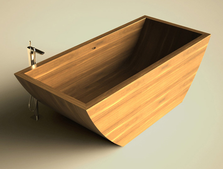 Outstanding Wooden Bathtubs designs crafted by Unique Wood Design