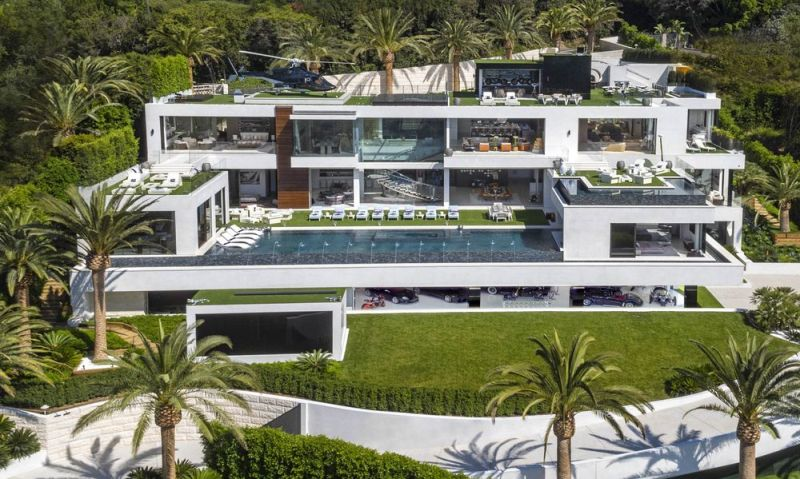 $250 milion bel air mansion
