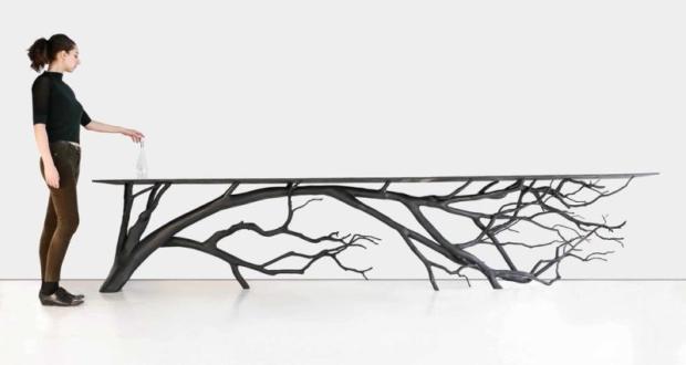 Bilbao Console Is Sebastian Errazurizu0027s Latest Tree Branch Table