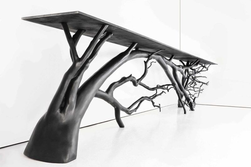 Exceptionnel Nature Inspired Table For Your Modern Living Room