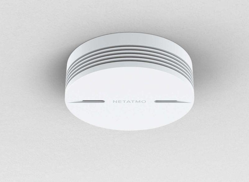 Netatmo Smart smoke alarm CES 2017