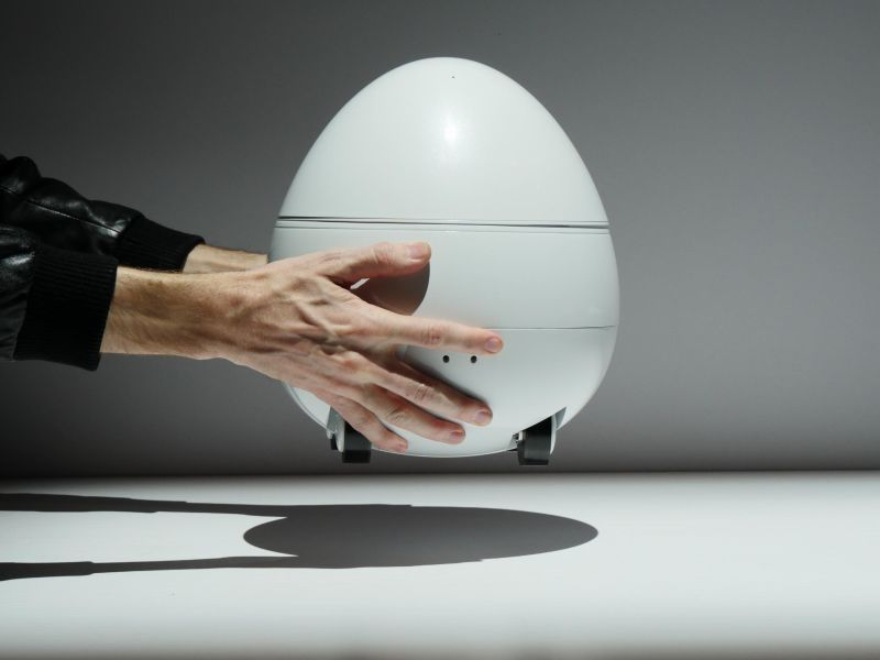 CES 2017: Panasonic's egg-shaped home robot with built-in projector