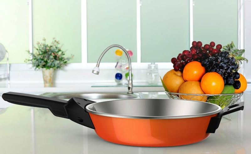 SmartyPans exhibits app-connected cooking pans at CES 2017