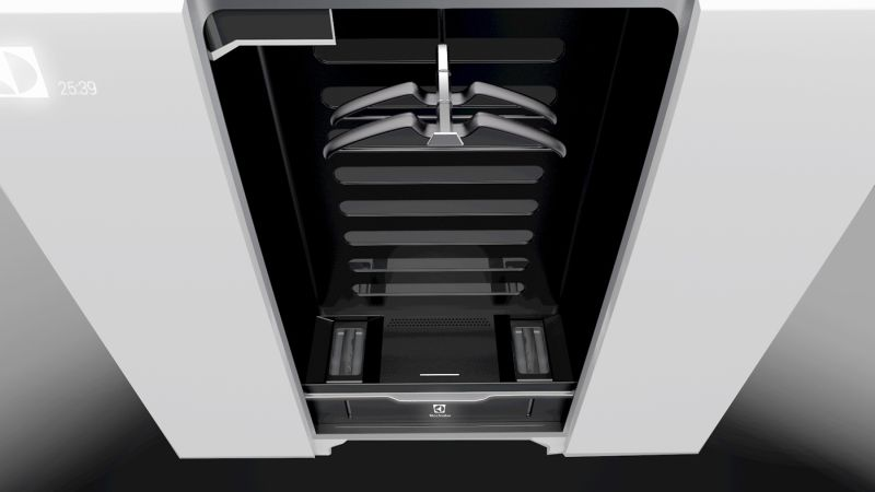 Jonatan Rosman Designs Steam Cabinet For Electrolux