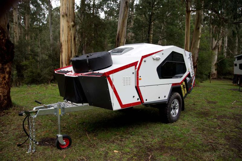 Firetail camper by Track Trailer