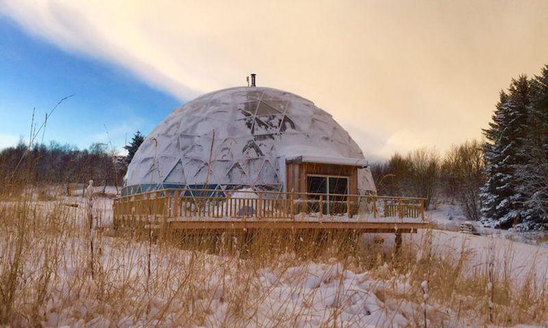 Hjertefolger family in Arctic Circle