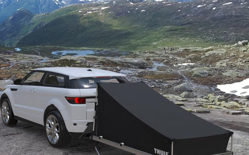 Kaesar Design's portable folding camp project for Thule