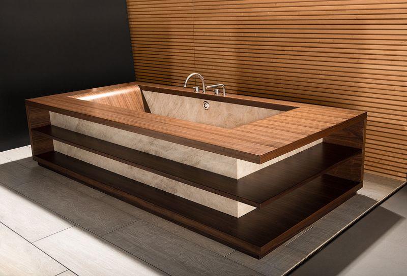 Laguna Stone bathtub by ALEGNA AG