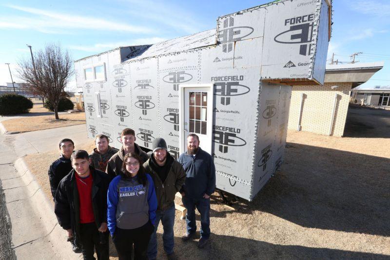 Ness City High School Mobile home