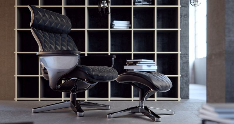 Nuvem lounge chair by Comfort Seating Europe