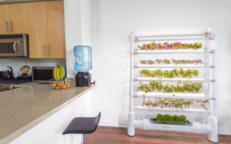 CES 2017: OPCOMLink USA showcase connected indoor hydroponic gardening systems